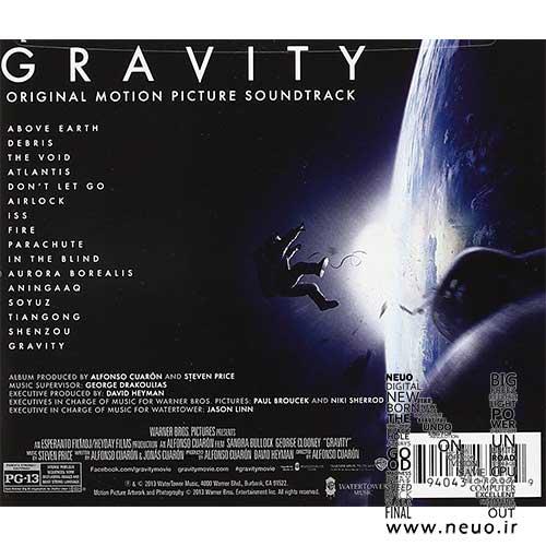 دانلود لیست موسیقی متن فیلم جاذبه-Gravity Original Motion Picture Soundtrack