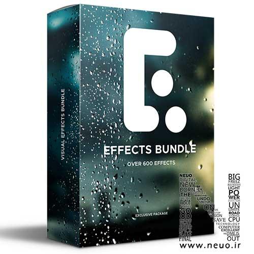 دانلود پکیج کامل پریست پریمیر افکت و ترانزیشن Premiere Effects Bundle